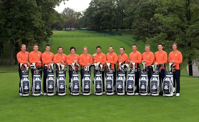 2012 Winning Ryder Cup Team European Ryder Cup Team 2012