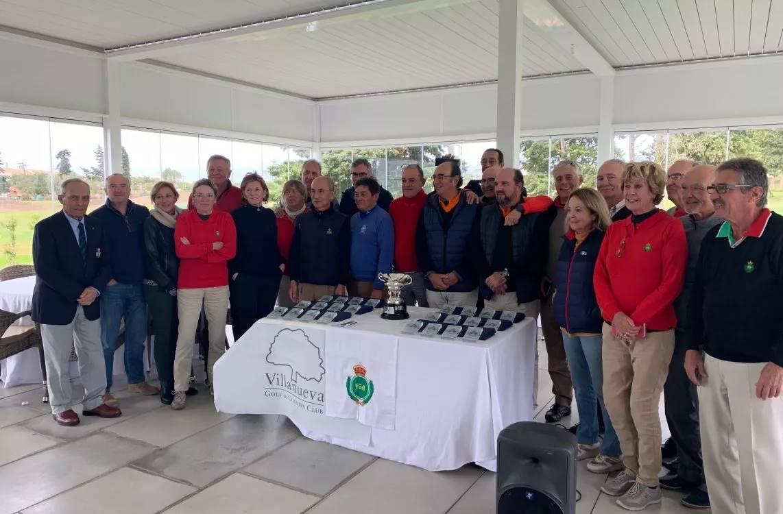 Villa Nueva Golf, sede de una nueva edición del Match Senior Andalucía Occidental – Oriental