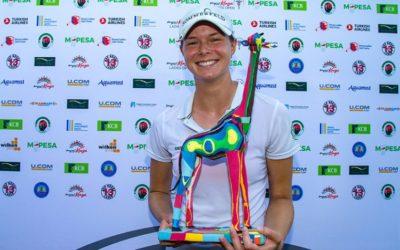 Esther Henseleit gana la Orden de Mérito con la victoria en el Magical Kenya Ladies Open