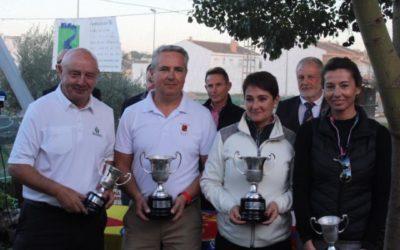 Ríos y Batista, nuevos Campeones de España Seniors de Pitch & Putt