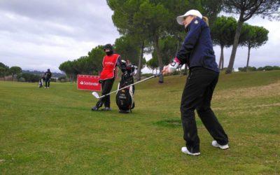 Ni los elementos ponen freno a Luna Sobrón en el Campeonato de España de Profesionales
