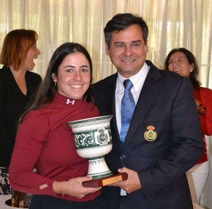 Ana Peláez vence en la Copa Andalucía con una exhibición de principio a fin