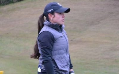 Ana Peláez se sitúa al frente de la Copa Andalucía Femenina en Atalaya Golf