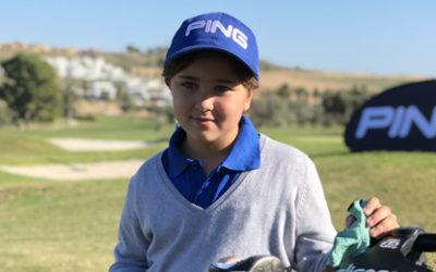 Un jovencísimo valor empieza a despuntar en los hoyos de Palomarejos Golf