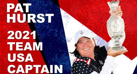 Oficial: Pat Hurst es designada como capitana USA de la Solheim Cup