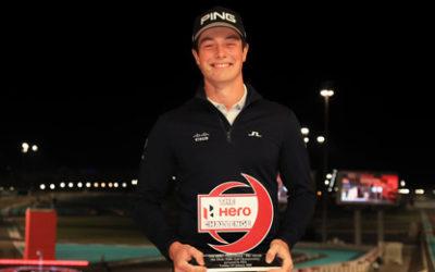 Viktor Hovland estrena el palmarés 2020 del Hero Challenge y el suyo propio