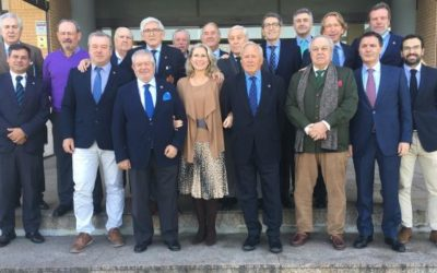 Los presidentes de federaciones autonómicas de golf se dieron cita en el Centro Nacional