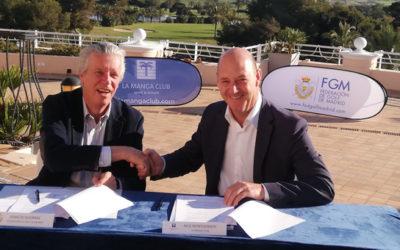 Acuerdo destacado entre la Fed. de Golf de Madrid y La Manga Club Resort