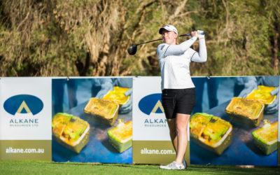 Empate escocés en el inicio del Women's NSW Open