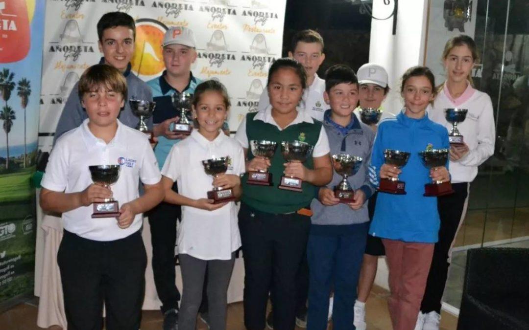 Añoreta y Villa Nueva acogen dos nuevas pruebas de los Circuitos Juvenil y Benjamín de Andalucía