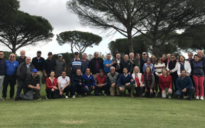 Una cita casi centenaria se disputó en Bellavista Golf
