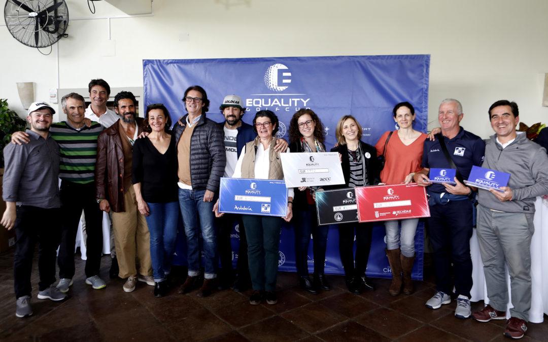 La Equality Golf Cup recaudó 7.550 € que donó a las cuatro ONGs representadas en su primera prueba de Sherry Jerez
