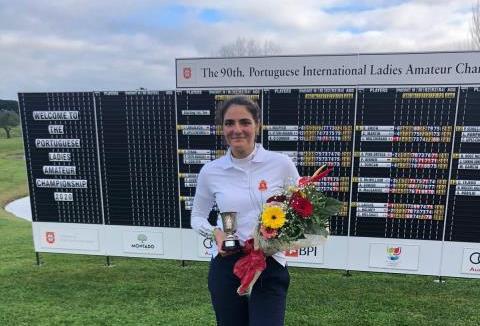Carolina López-Chacarra, segunda en el Internacional de Portugal Femenino 2020