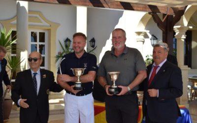 Bradley y Jenkins ganan el Internacional de España Dobles Senior Masculino