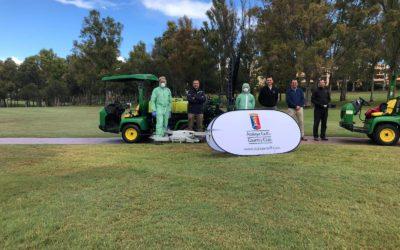 El golf andaluz se une a la lucha contra el virus