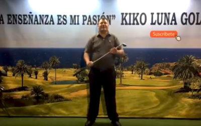 Programa de golf online cada tarde con Kiko Luna
