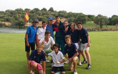 La Federación de Golf de Madrid promueve el golf en campamentos de verano