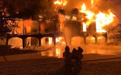 Un incendio destruye el hogar de Davis Love III y su esposa con ellos dentro