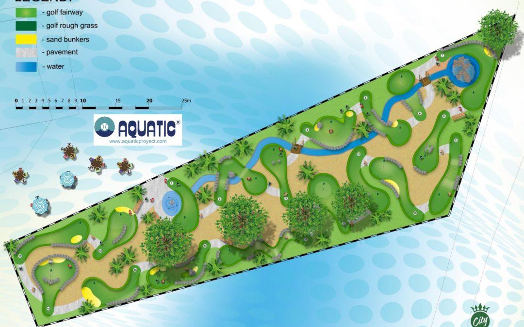 La Manga albergará un nuevo campo de minigolf