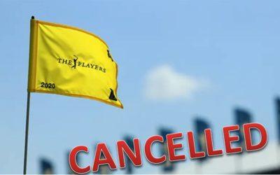El coronavirus gana al golf y obliga a suspender THE PLAYERS