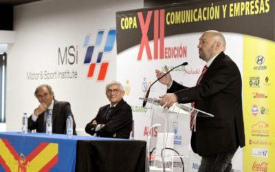 La XII Copa Comunicación y Empresas mete la directa y se presenta en el Motor & Sport Institute