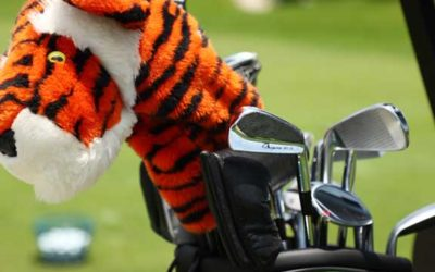 La bolsa de Tiger Woods para el duelo The Match II