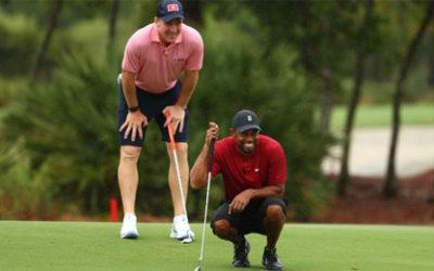 Sergio García. ¿Próximo invitado en The Match con Tiger Woods?