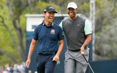 A Kevin Na se le 'escapa' que Tiger Woods será el capitán americano en la Ryder Cup de 2022