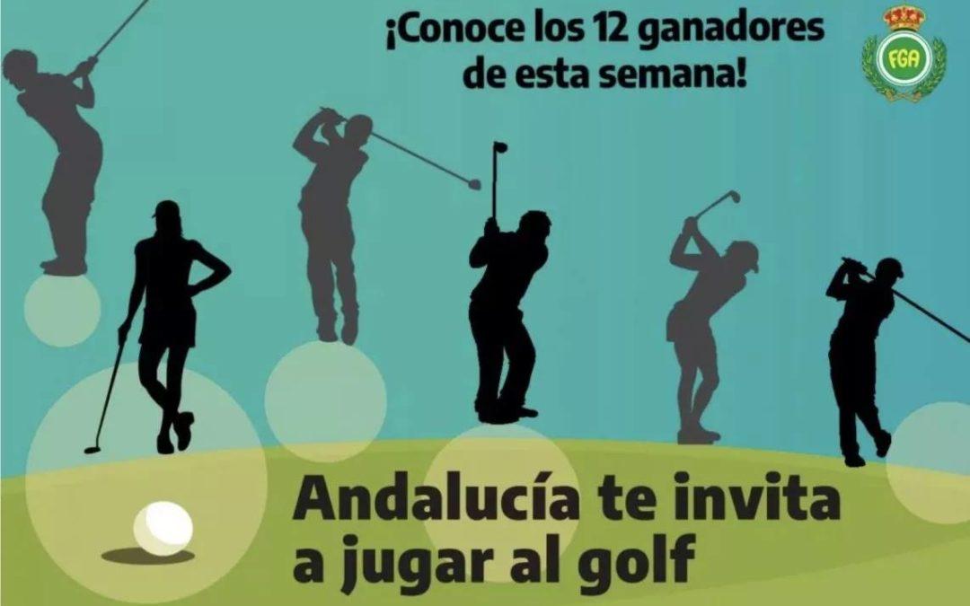 Doce nuevos ganadores de unas vacaciones de golf en Andalucía antes del bombazo del sorteo final