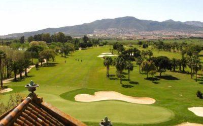Espectáculo de golf en el Circuito Andaluz de Profesionales de Guadalhorce
