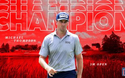 Dos birdies postreros y título para Thompson tras una larga sequía