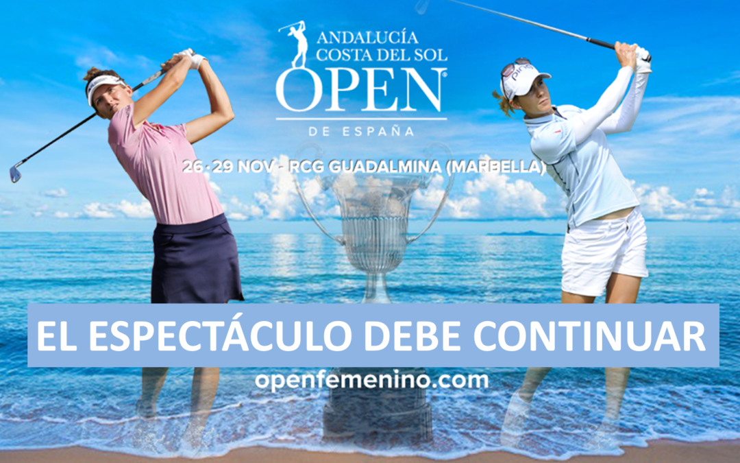 El Real Club de Golf Guadalmina, sede de lujo para el Andalucía Costa del Sol Open de España Femenino 2020