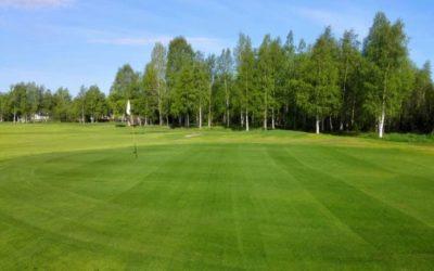 Un campo peculiar cerca del Polo Norte: Haparanda Golfklubb/Meri-Lapin Golfklubi ry