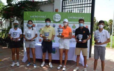 Álvaro Portillo y Natalia Guseva se proclaman campeones de Andalucía Sub 18