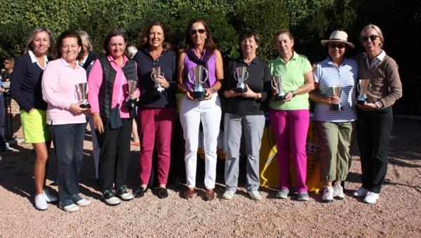 Las mujeres golfistas tienen preparada su cita en el calendario