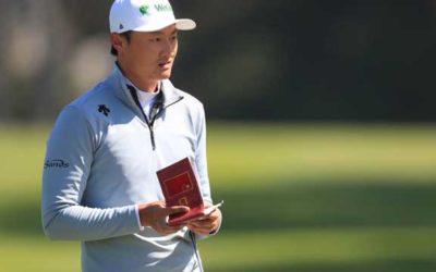 Un sorprendente Li Haotong manda en Harding Park