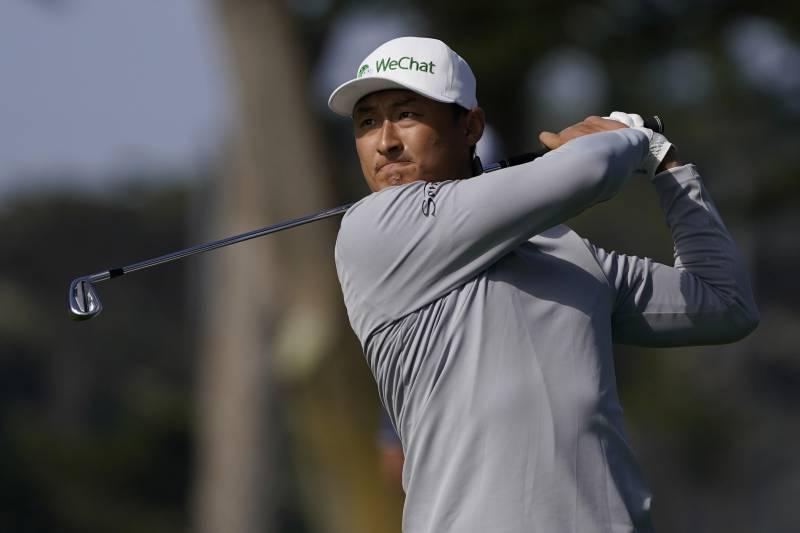 Haotong Li es el nuevo líder del PGA Championship con seis jugadores pisándole los talones