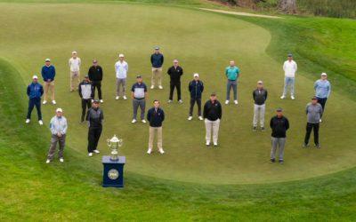 Escenario preparado para el 102° Campeonato de la PGA