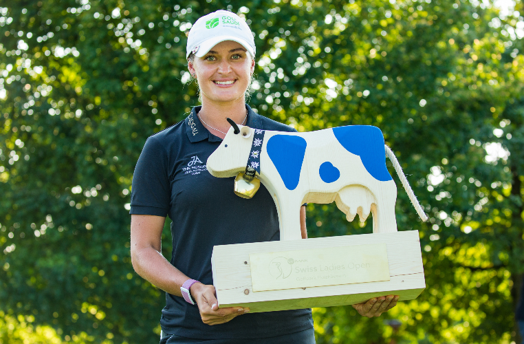 Amy Boulden gana cómodamente el Swiss Ladies Open