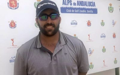 Mario Galiano, con opciones de victoria en el Alps de Andalucía a falta de 18 hoyos