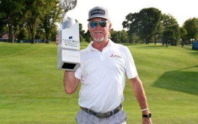 Miguel Ángel Jiménez logra su décimo título en el PGA Tour Champions