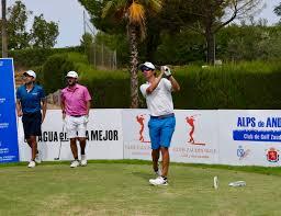 Rafa Cabrera Bello, gran inspiración para los españoles en Zaudín Golf