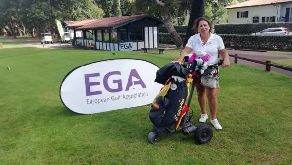 María Castillo toma la delantera en el Campeonato de Europa Individual Senior