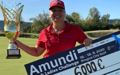 Tiia Koivisto consigue la victoria en el Amundi Czech Ladies Challenge e inaugura su palmarés en el LETAS