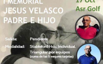 I Torneo Memorial Jesús Velasco Padre e Hijo