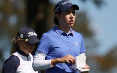 Carlota Ciganda se coloca a un golpe en el KPMG Women's PGA Championship