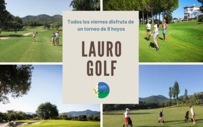 Luz verde y motores en marcha: Inicio del Circuito 9 hoyos Lauro Golf 2020
