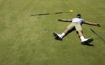 Prohibido desesperarse en golf