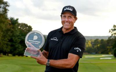 Mickelson gana el Dominion Energy Charity Classic y suma su segundo título en el Champions Tour