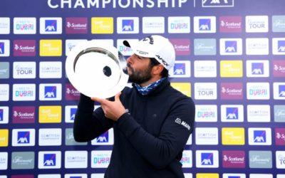 Adrian Otaegui consigue el Scottish Championship